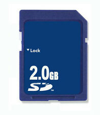 10 x 2GB scheda di memoria SD Standard sicurezza digitale Generico NUOVO CON /