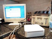 Apple Mac Mini G4 A1103, A1026 1.42 GHz 1GB RAM 80GB wifi BT Combo drive NO PSU