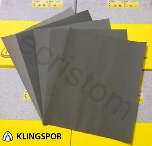 KLINGSPOR PS8A Wet and dry sandpaper mix grit 60-2500 CHOOSE YOUR OWN abrasive