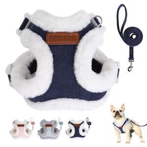 Step In Dog Harness and Leash Set Soft Puppy Walking Vest Adjustable Yorkshire