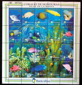 Honduras #C1023 Sheet of 20 1998 MNH