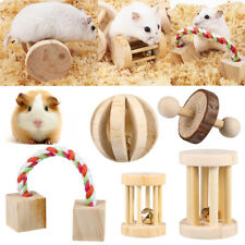 5pcs Natural Wooden Chew Pets Toy for Pine,Hamster,Guinea pig,Rabbits,Birds