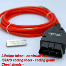 Fits BMW ENET ESys ISTA  Diagnostic Coding OBD Cable Tool Launcher PRO UNLIMITED