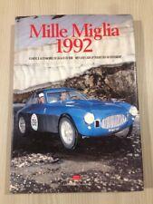 Libro Mille Miglia Anno 1992