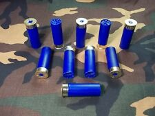 12 GAUGE SNAP CAPS,  BLUE,  10 PACK,  TRAINING ROUNDS