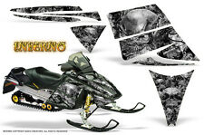SKI-DOO REV MXZ 03-09 SNOWMOBILE SLED GRAPHICS KIT CREATORX DECALS INFERNO S