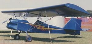 Simplex Zing Ultralight/Experimental Light Sport aircraft construction plans