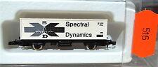 espectral dinámica, Vagón contenedor kolls 90705 Märklin 8615Z 1/220 516