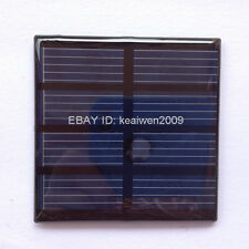 2pcs 2V 150mA 0.3W mini epoxy solar panel PV solar PCB plate charge battery led