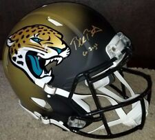 BLAKE BORTLES F/S REVOLUTION SPEED AUTHENTIC JAGUARS HELMET GO JAGS FANATICS COA