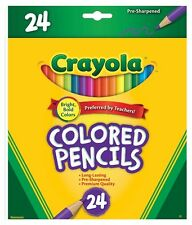 24 Full Size Colored Pencils from Crayola 68-4024