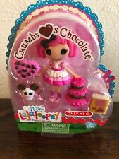 "Lalaloopsy Mini Crumb Loves Chocolate 3"" Doll NEW Target Exclusive Valentine's"