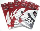 5 Wilson Staff Grip Soft Men's Gloves Lefty for the RIGHT-Handed Golfer