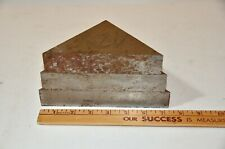 """New listing A-2 Tool Steel 1 1/4"""" Thick Triangles Set of 3"""