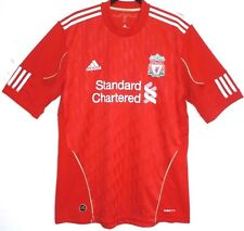 "OTTIMO! Liverpool FC 2010/2011/2012 L Large 42 - 42"" HOME SHIRT ADIDAS"