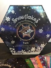 Create Your Own Snowflakes Kit with Instruction Book and Assorted Papers ST04