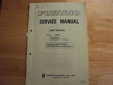 Furuno Dp-5 Nbdp terminal service manual used
