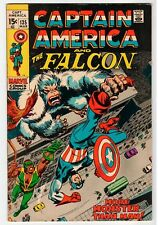 Marvel Captain America And The Falcon #135 - Vg/Fn Mar 1971 Vintage Comic