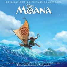 MOANA SOUNDTRACK CD NEW