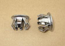 Bicycle Handlebar End Plugs Schwinn Type End plugs Caps Steel Chrome 1 pair