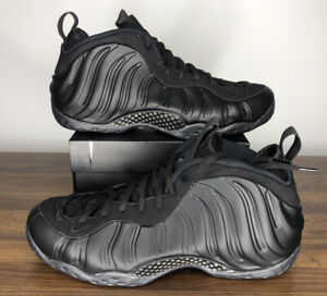Nike Air Foamposite One Triple Black Anthracite 314996-001 Mens Size 13
