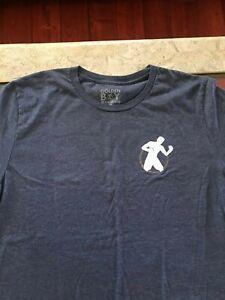 Navy Blue Team Golden Boy T-Shirt 2XL