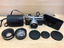 *Near Mint ++ w/ 2 Converters* Yashica Electro 35 GSN Rangefinder Film Camera JP