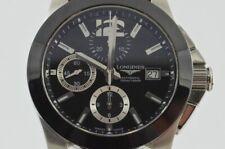 Longines Conquest Automatic Chrono Men's Watch 42MM Steel Vintage L3.661.4
