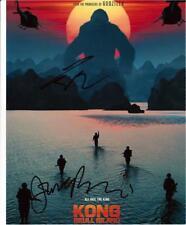 "Kong - Skull Island - Colour 10""x 8"" Double Signed Promo - UACC RD223"