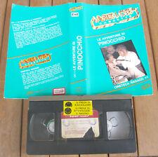 LE AVVENTURE DI PINOCCHIO (1972) VHS ORIGINALE 1ª EDIZIONE