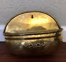 Brass hanging flower pot Made In India