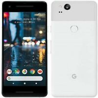 Google Pixel 2 Factory Unlocked White 128GB