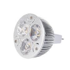 3W 12-24V MR16 Warm White 3 LED Light Spotlight Lamp Bulb only R2H7