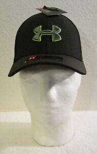 NWT Under Armour Boys UA Blitzing 3.0 Baseball Cap Hat XS/S Artillery/Moss $20