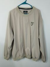 MENS GOLF JACKET ASHWORTH WEATHER SYSTEMS XL CRESTVIEW WATER WIND RESISTANT
