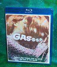 New Rare Oop Olive Films Roger Corman Gas-S-S-S Comedy Sci-Fi Movie Blu Ray 1970