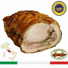 Porchetta di Ariccia IGP Castelli Romani Tronchetto a Trancio Affettata Salumi