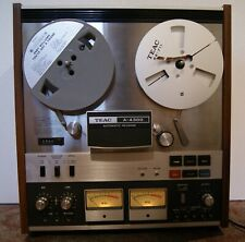 """TEAC A-4300 4 Track 7"""" Auto Reverse Reel to Reel Tape Recorder"""