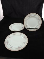 Wedgwood Rosalie Bone China Set of 3 Salad Plates 8""