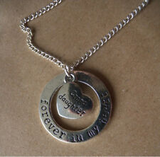 GORGEOUS 'FOREVER IN MY HEART' GRAND DAUGHTER NECKLACE WITH FREE GIFT BAG