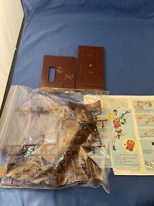 VTG Aurora Robin The Boy Wonder Plastic Model Kit w/ Printed Instructions No Box