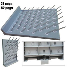 Drying Rack Lab Supply Pegboard Glassware Drying Rack (27/52 Detachable Pegs)