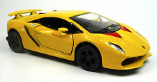 Lamborghini Sesto Elemento Amarillo modelo de coleccionista aprox. 13cm mercancía nueva de Kinsmart