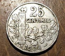 PIECE DE 25 CENTIMES 1904 PATEY (137)