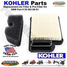 20 883 06-S1 055-441 / Oem Kohler Air Filter & Pre-Filter Kit for Mowers & Other