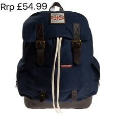 SUPERDRY Backpack Rucksack Hand Luggage School College Uni Bag Rookie Scoutpack