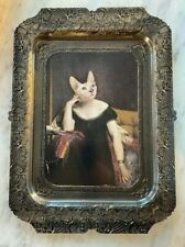 IBRIDE LAZY VICTOIRE SPHYNX CAT RECTANGLE TRAY BRAND NEW WITH ORIGINAL PACKAGE