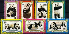 Mongolia 1977 SG#1091-7 Giant Pandas MNH Set #D58852