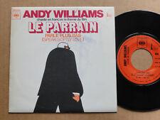 """DISQUE 45T DE ANDY WILLIAMS  """" PARLE PLUS BAS """""""