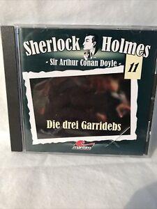 """Sherlock Holmes - Sir Arther Canan Dyle 11 """"die drei Garridebs"""" Hörspiel '"""